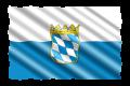 Landesflagge Bayern