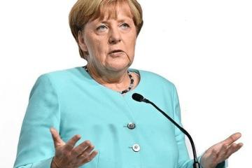Merkel ohne Maske